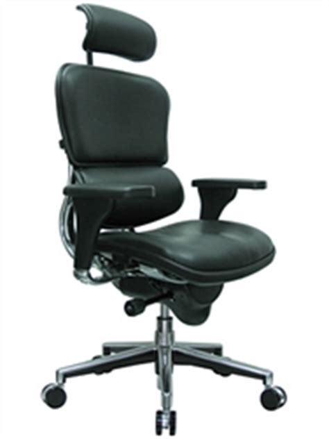 ergohuman black leather high end office chair le9erg by