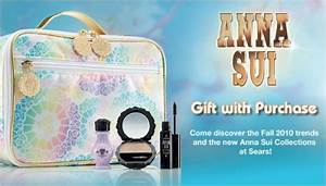 Sears Canada Anna Sui Gift With Purchase When You Spend ...