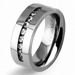 8mm mens womens titanium classic wedding bands with 9 for Chanel mens wedding rings