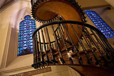 Spiral Staircase Santa Fe by The Miraculous Staircase At Loretto Chapel In Santa Fe