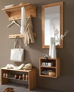 Designer Garderoben Set : massivholz garderoben set dielenm bel kernbuche massiv ge lt ~ Indierocktalk.com Haus und Dekorationen