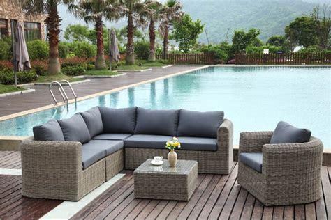 stunning salon de jardin tresser salon de jardin en rsine tresse ronde aubane osier salon