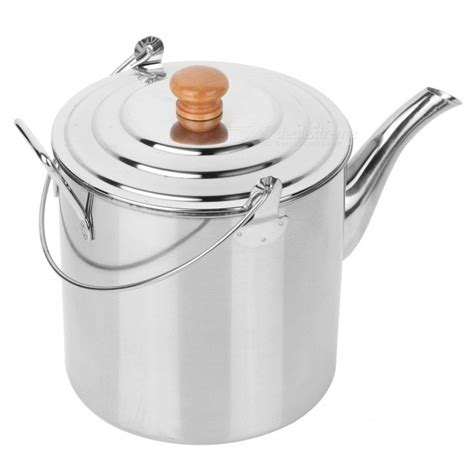 kettle camping tea camp stainless steel teapot pot coffee hiking outdoor 3l 2l