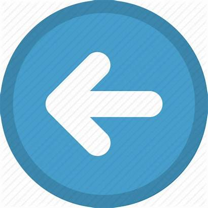 Arrow Icon Previous Left Pointer Direction Icons