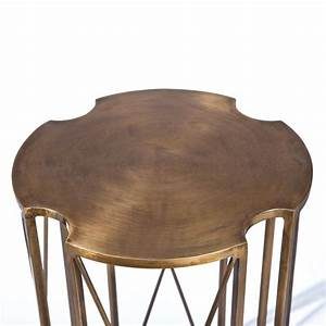 Table D Appoint Metal : table d 39 appoint m tal giovanni bronze ~ Teatrodelosmanantiales.com Idées de Décoration