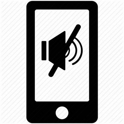 Silent Mute Mobile Icon Sign Muted Sound