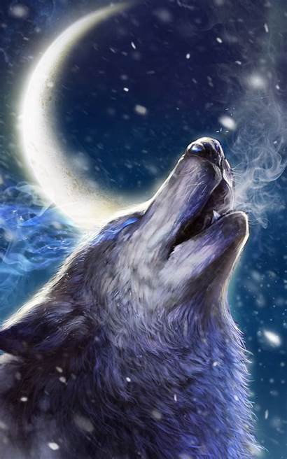 Wolf Tablet Wallpapers Howling Android