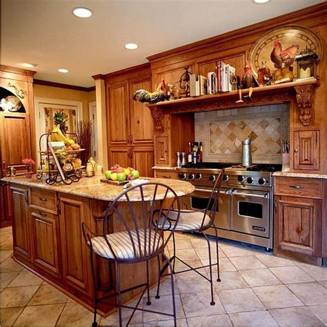 country style kitchen decor kuchnia rustykalna projektwnet 6209