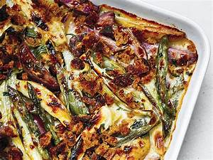 this asparagus and potato gratin makes a great
