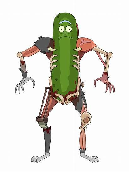 Pickle Rick Morty Drawing Turnaround Meme Cartoon