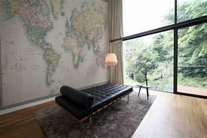 Carte Du Monde Deco Murale : une d coration murale qui donne envie de voyager ~ Dailycaller-alerts.com Idées de Décoration