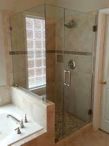 Bathroom Beveled Mirrors by Frameless Shower Doors Custom Glass Shower Doors Atlanta Ga