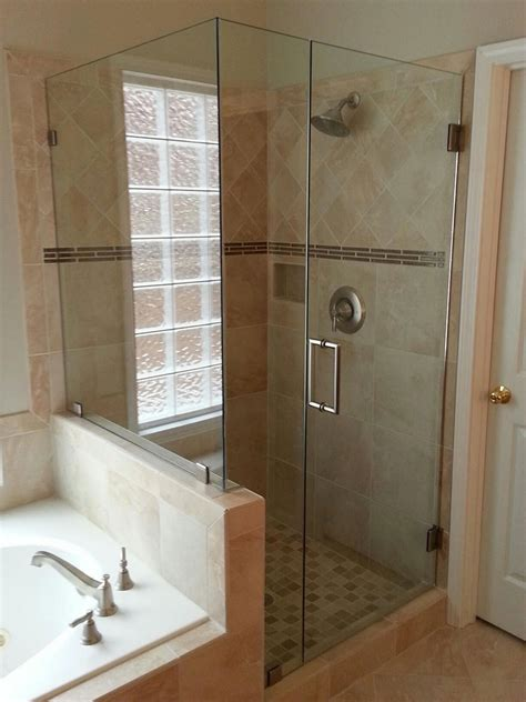 frameless shower glass frameless shower doors custom glass shower doors atlanta ga