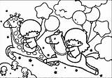 Twin Stars Coloring Twins Sanrio Melody Getdrawings Kuromi Cinnamoroll Characters Template sketch template