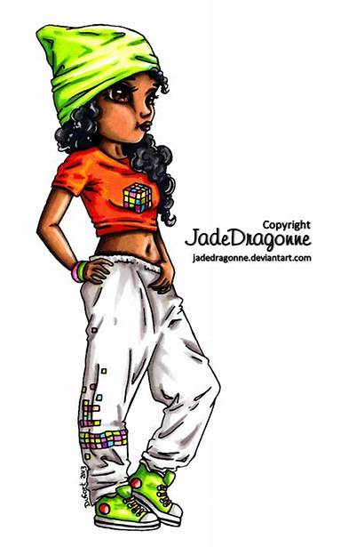 Hop Hip Dancer Dance Deviantart Jadedragonne Colored
