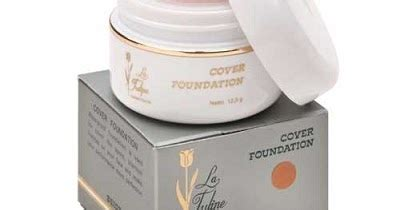 La Tulipe Soft Foundation 12 5gr foundation kosmetik murah