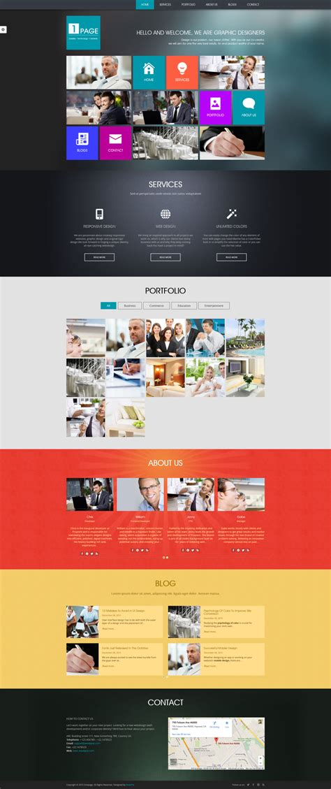 Onepage Theme Drupal 8 Onepage Theme Guide For Developers Weebpal