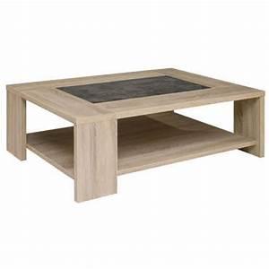 Meuble Tv Carrefour : table basse fumay vente de table basse conforama ~ Teatrodelosmanantiales.com Idées de Décoration