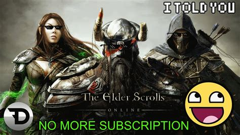 Elder Scrolls Console Release Date by Elder Scrolls Ditching Subscription And Console