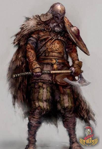 vikings  great warriors skyrim