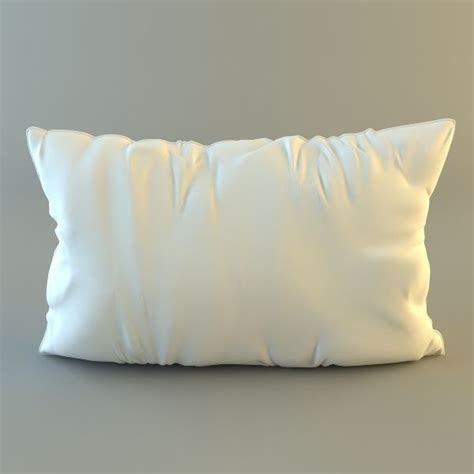 throw pillow  model max obj ds fbx cgtradercom