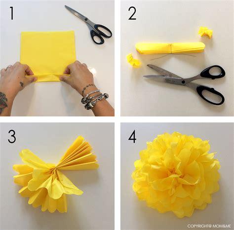 tutorial fiori di carta velina fiori di carta