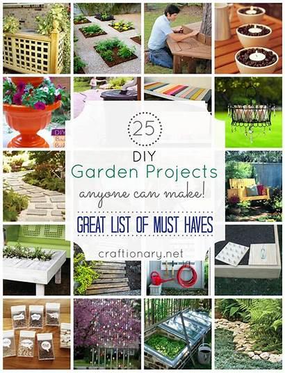 Diy Garden Projects Craft Outdoor Anyone Gardening