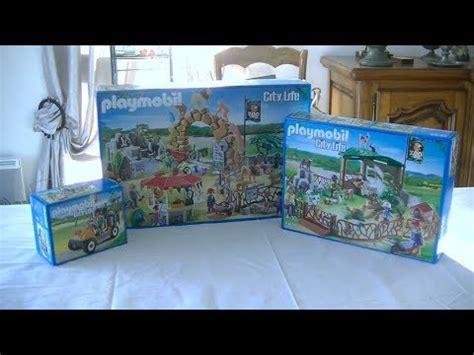 Unboxing Playmobil (fr)  Le Zoo (2014)  6634, 6635, 6636