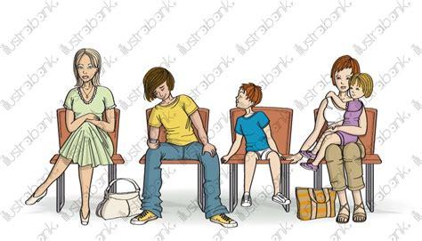 salle d attente illustration libre de droit sur illustrabank