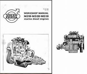 Volvo Penta Md1b Md2b Md3b Engine Marine And 50 Similar Items