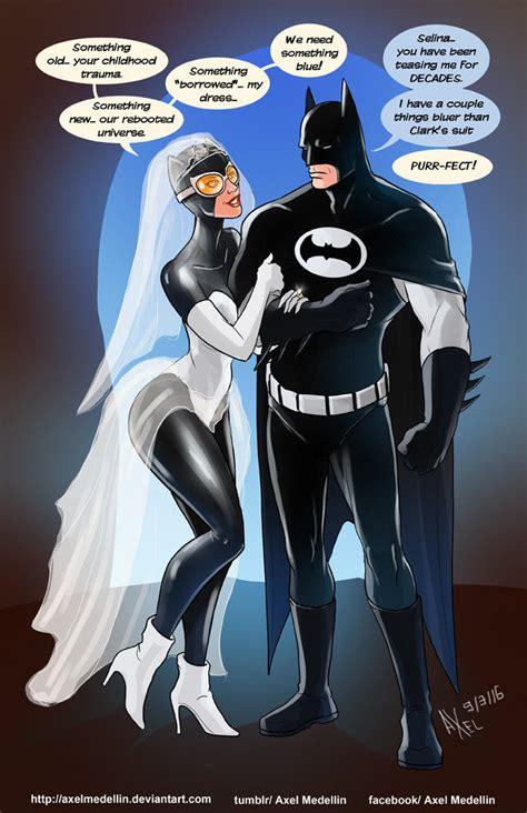 Tliid 281 Batman Marries Catwoman By Axelmedellin On