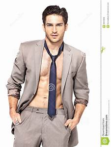Smart Good-looking Guy With Serious Look Stock Image ...