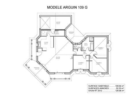 plan de maison 4 chambres plain pied gratuit cheap excellente plan de maison plain pied modles et plans