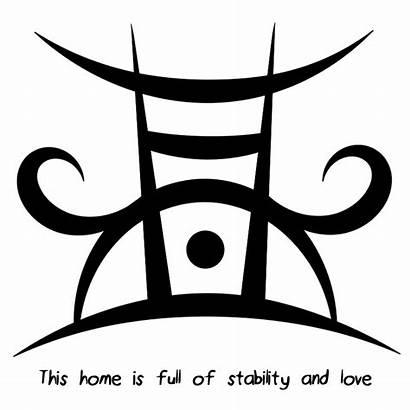 Sigil Sigils Stability Symbols Protection Malvorlagen Magic