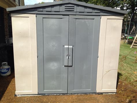 Keter Storage Shed 8x6 by Letgo Keter 8x6 Storage Shed In Bartlett Tn