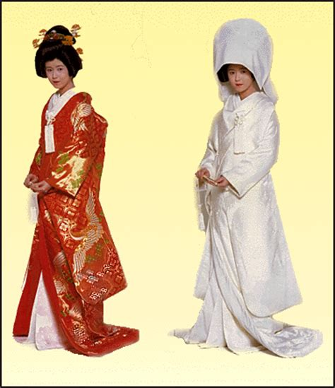 Traditional Japanese Wedding Dress by Japanese Weddings Clothes Ceremony Gifts