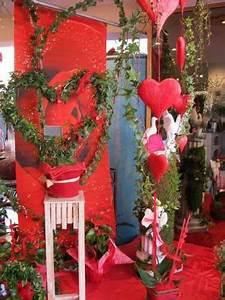 Vitrine Saint Valentin : la vitrine de la saint valentin deco vitrine ~ Louise-bijoux.com Idées de Décoration