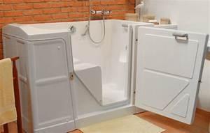 Porte Pour Baignoire : pourquoi acheter une baignoire porte pour senior ~ Premium-room.com Idées de Décoration