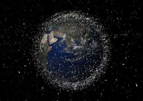 Space Debris Illustrated The Problem In Pictures