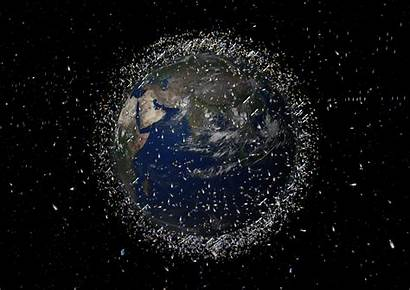 Space Debris Earth Orbit Objects Illustrated Universe