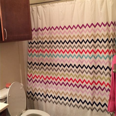 kate spade shower curtain 43 kate spade other kate spade chevron shower