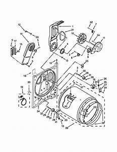 Crosley Ced147sdw2 Dryer Parts