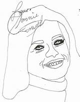 Coloring Pages Celebrity Getcolorings June Smith Printable Constance Medor Country sketch template