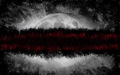 Paint Lines Planet Gray Dark 4k Background