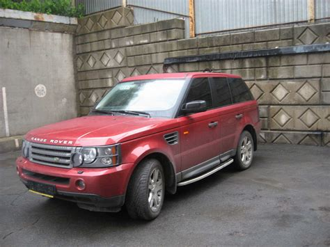 Land Rover Range Rover Sport Photo by Used 2006 Land Rover Range Rover Sport Photos 4400cc