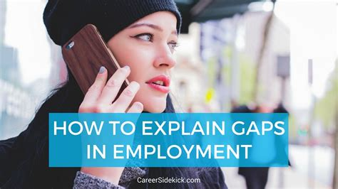 explain gaps  employment examples careersidekick
