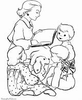 Coloring Printable Eve Storytime Raisingourkids Sheets Embroidery Printables Holiday Printing Scenes sketch template
