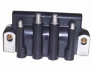 Ignition Coil 583740 For Johnson Evinrude Outboards In The