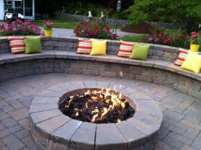 patio ideas with pit on a budget