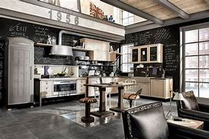 vintage and industrial style kitchens by marchi group With kitchen cabinet trends 2018 combined with ny giants wall art